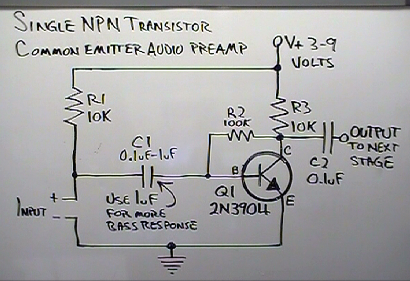besides Headphone  lifier Schematic Diagram besides Maxresdefault moreover Prtscr Capture further Ism Fig B. on simple transistor audio amplifier circuit