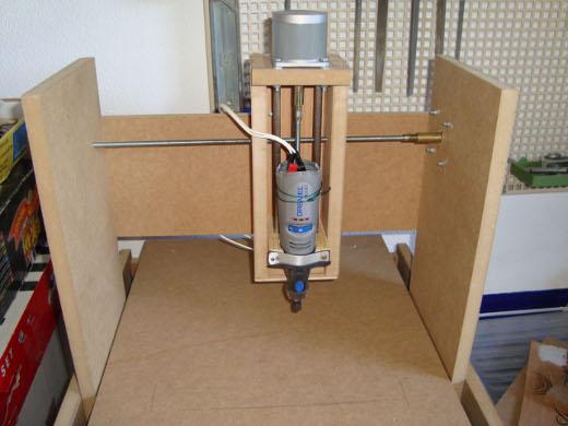 Fresadora cnc casera de 3 ejes con arduino automatismos - Como hacer una mesa de ordenador ...